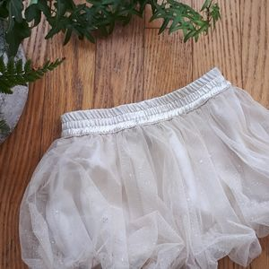 Other - Sparkle tulle bubble skirt